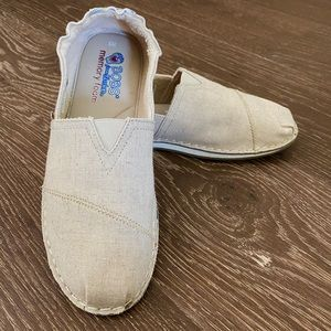 Bobs from Sketchers Canvas Slip ons